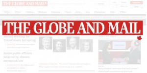 Globe and Mail logo image