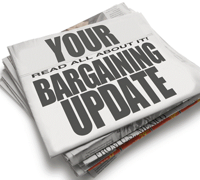 Your bargaining update