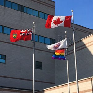 Laurier's Pride Flag