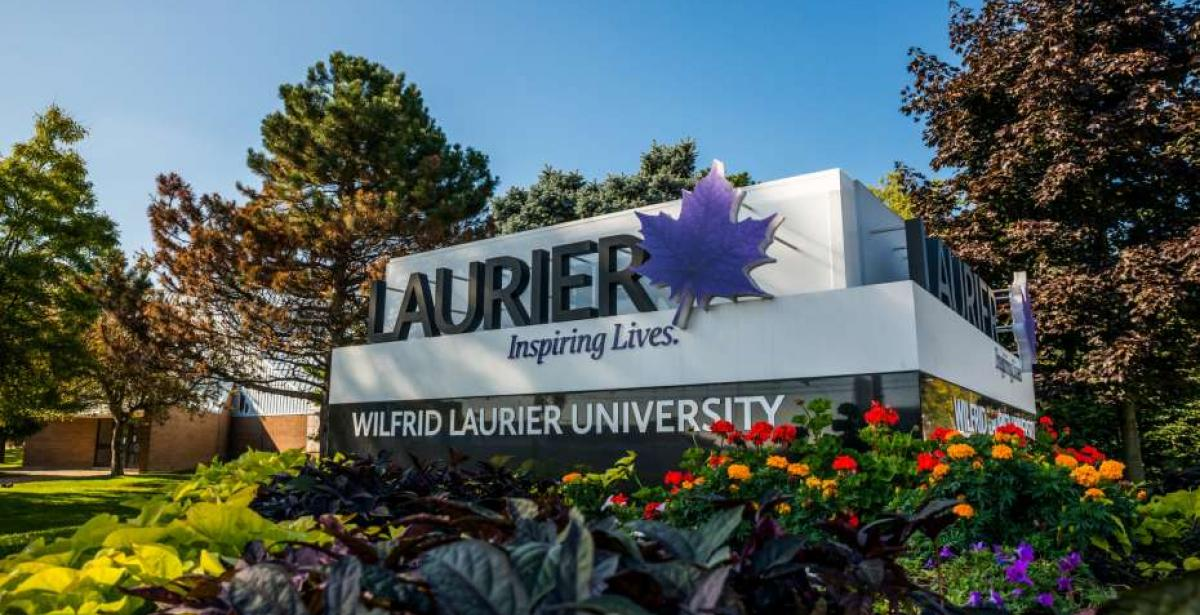 """""""Laurier"""" sign"""